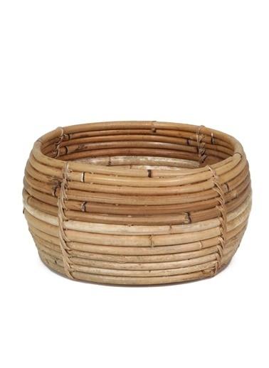Kanca Ev Bambu Mini Sepet Renkli